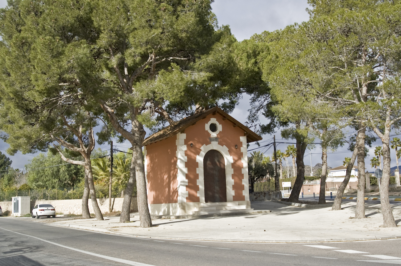 The Virgin's little house – Aspe Turismo